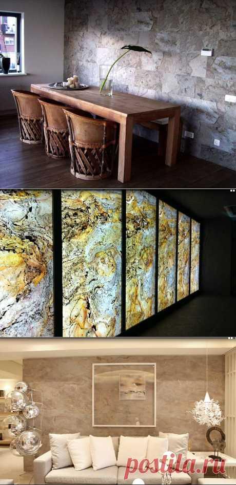 (+1) комм - Легкий натуральный камень. Новый одтелочный материал. | Школа Ремонта