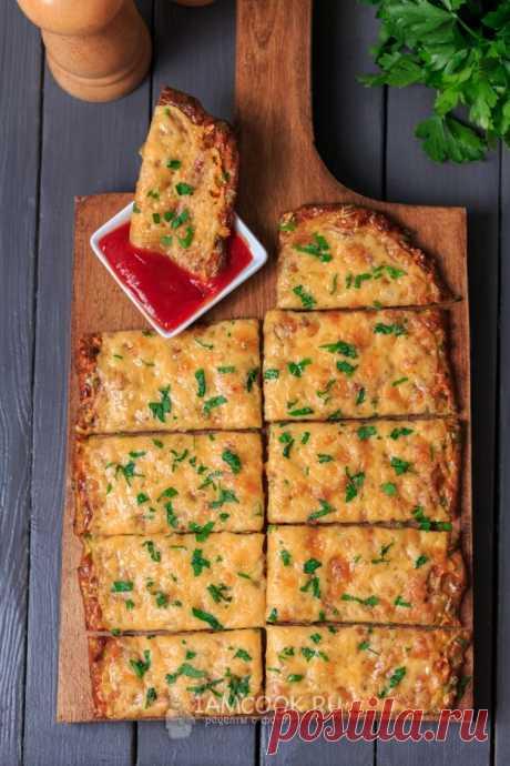 Сырные хлебцы из кабачков — рецепт с фото пошагово