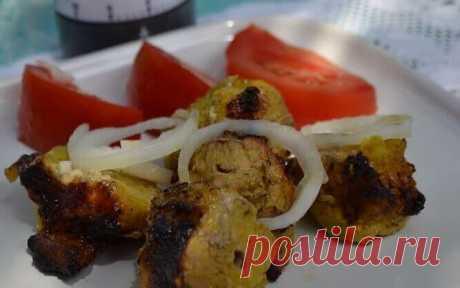 Шашлык с Куркумой Рецепт Шашлыка по Восточному Шашлык с куркумой и восточными специями - пикантный и вкусный рецепт восточного шашлыка порадует вас и ваших друзей.