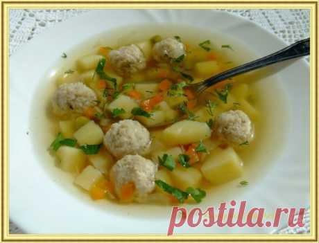Суп рыбный с фрикадельками из щуки | Русская кухня