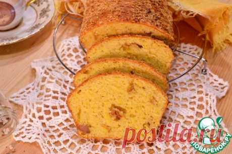 Сырный кекс с грудинкой - кулинарный рецепт