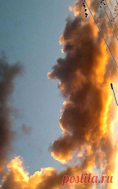 Бесконечное небо...