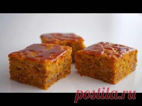 Простой морковный/тыквенный пирог