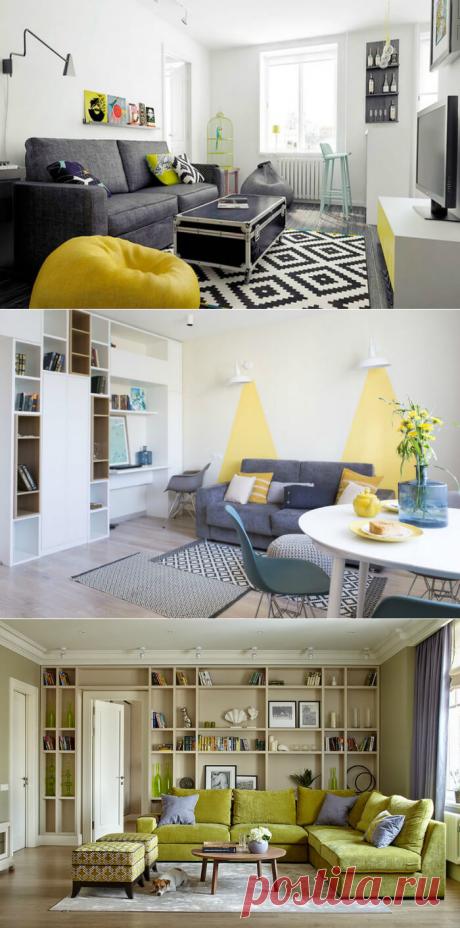 17 идей обустройства гостиной, которые подойдут нашим «хрущевкам» или «панелькам»