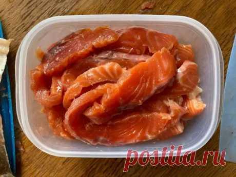 Засолить рыбу - Вкусно с Любовью - медиаплатформа МирТесен