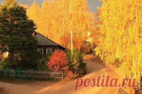 И с каждой осенью я расцветаю вновь. © А.С. Пушкин