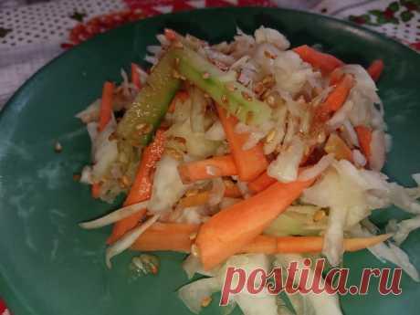 Очень простой салат и вкуснейшая закуска к мясным блюдам | Igor Nikulshin | Яндекс Дзен