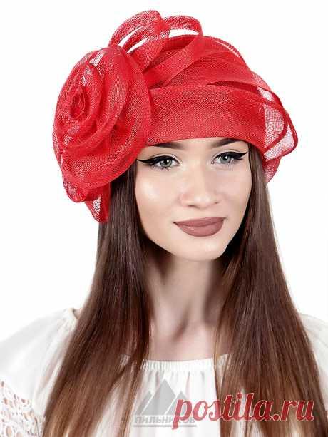 Шляпа Ульяна - Женские шапки - Из соломки купить по цене 3290 р. с доставкой в Интернет магазине Пильников