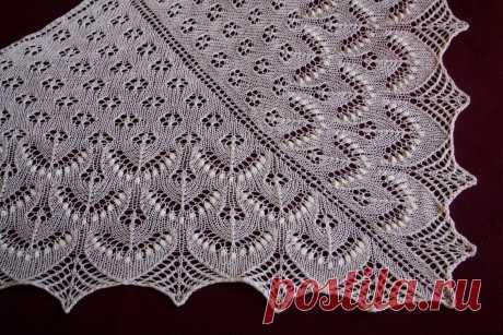 Шаль Филлерид — Красивое вязание