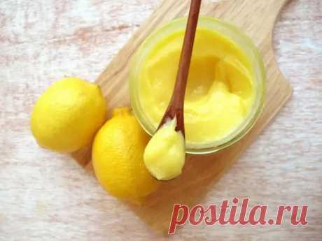 Крем с лимоном: лёгкий заварной крем особенно подходит для тех, кто сидит на диете - медиаплатформа МирТесен