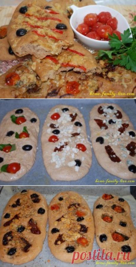 Фокачча/Сайт с пошаговыми рецептами с фото для тех кто любит готовить