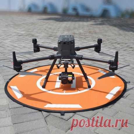 Startrc 110cm landing pad foldable pad for large airplane model dji inspire 1/2 mavic 2 pro fimi x8 bebop yuneec h520 drone quadcopter Sale - Banggood.com