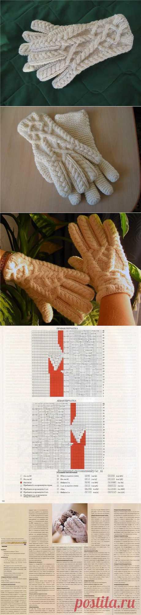 Замечательные перчатки, дизайнера - Джареда Флада..