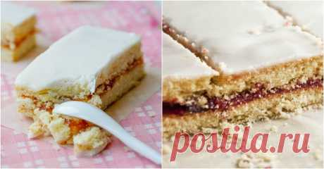 Рассыпчатое, нежное пирожное «Александровская полоска»: вкус, который возвращает в детство! — Вкусные рецепты