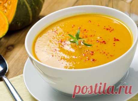 Тыквенный суп: рецепт с плавленым сыром - tochka.net