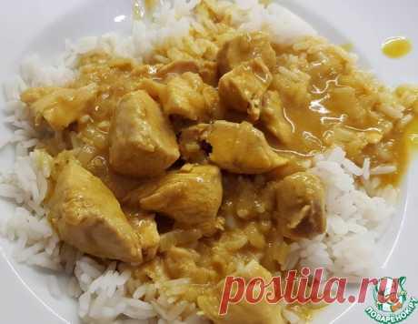 Курица карри – кулинарный рецепт