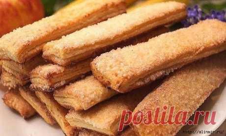 Творожное печенье - вкусное и слоистое