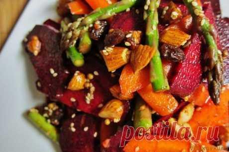 Марокканский салат из овощей и орехов / Вегетарианские и сыроедческие рецепты Марокканский салат из овощей и орехов / Вегетарианские и сыроедческие рецепты