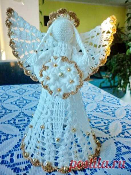 Обезьянка, Рождественский ангелы, подушки и венки. Вязаные.
