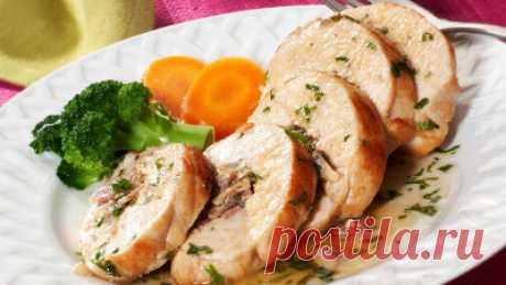 Куриные рулеты - Мясные блюда