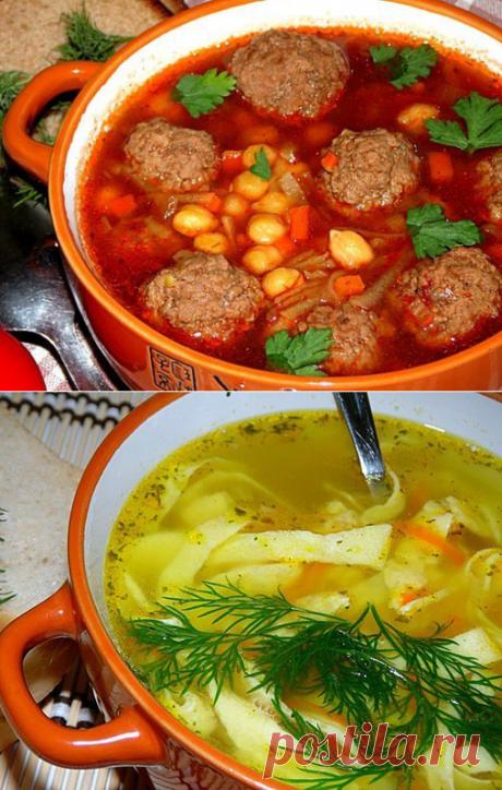10 рецептов самых вкусных супов