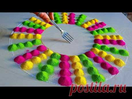 2021new special rangoli/happy new year muggulu 2021/sankranthi muggulu/ रंगोली डिजाइन