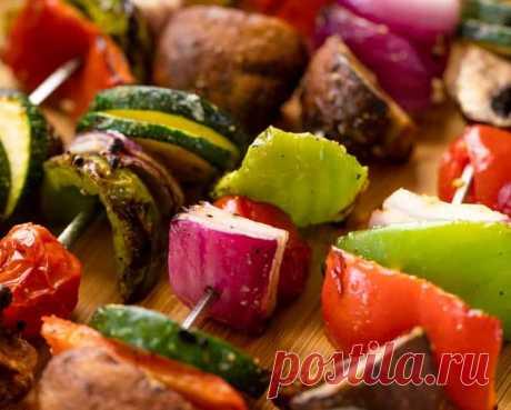 Лучшие овощи на гриле или мангале. | О вкусной еде