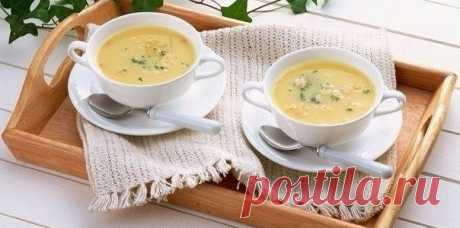 Нежный сливочный картофельный суп-пюре. Пальчики оближешь!