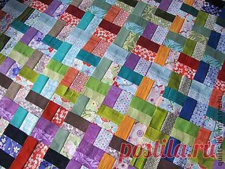 Работа с роллами, или полоски в лоскутном шитье - Шьем легко и красиво