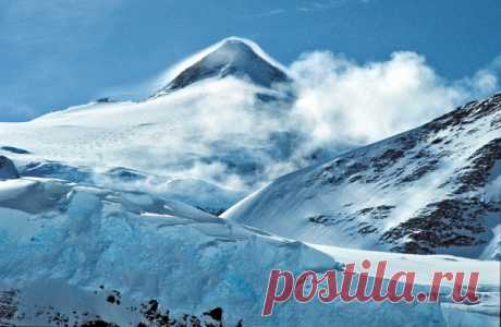 The most remote mountain tops