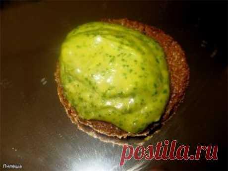 Замечательный зелёный соус из авокадо