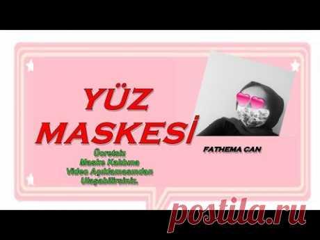 KORUYUCU YÜZ MASKESİ / KENDİ MASKENİ KENDİN YAP ! DIY Face Mask - YouTube