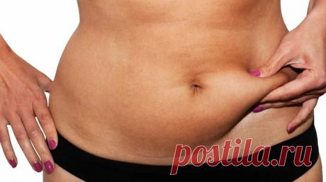 Супер простое средство для устранения жира на животе — Женские секреты