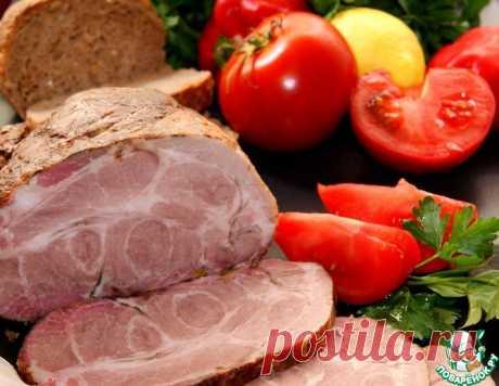 """Мясо маринованное """"мокрым"""" способом – кулинарный рецепт"""
