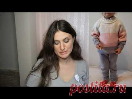 """СП """" С понедельника начну"""". Детский сарафан для сада. Готовый костюм. Вязание. Рынашко"""