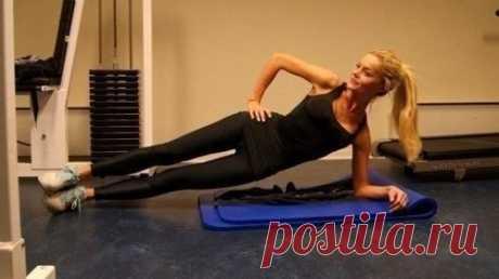 Домашний фитнес: простые упражнения — Мегаздоров