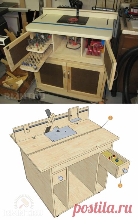 Фрезерный стол для ручного фрезера своими руками: пошаговая инструкция — Rmnt.ru