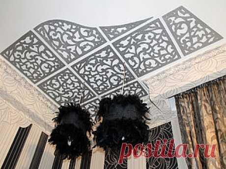 Изготовление абажуров и ажурного потолка в стиле ар-деко - Ярмарка Мастеров - ручная работа, handmade