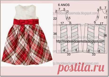 Шьем нарядные платья для девочек. Выкройки (Шитье и крой) — Журнал Вдохновение Рукодельницы