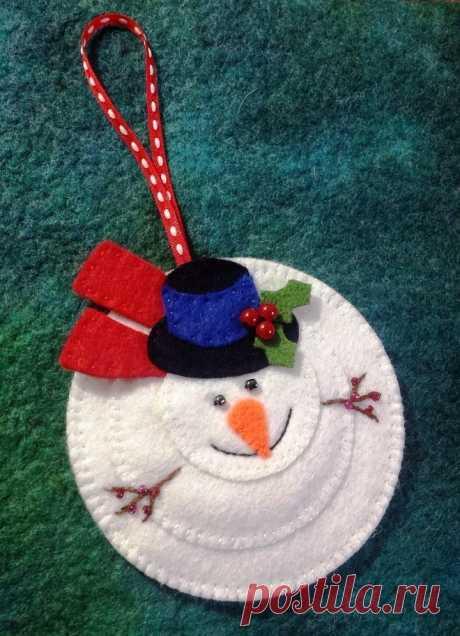 Кладовая зимних фантазий - необычные новогодние поделки из ватных дисков и ватных палочек - Начальные классы