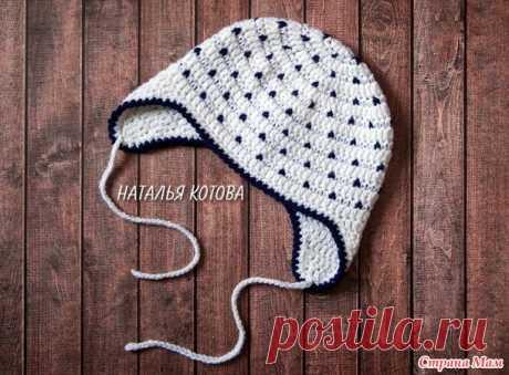 . Детская шапочка крючком (мастер-класс) - Вязание - Страна Мам