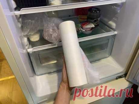 Уже много лет кладу в ящики холодильника салфетки. Назову 3 причины, после которых и вы будете так делать.