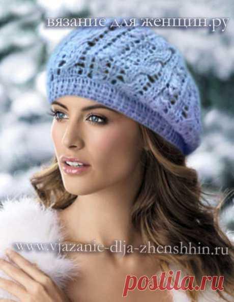 Вязание шапок крючком для женщин. Модные модели 2018 с описанием