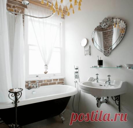 Зеркала в интерьере ванной: идеи дизайна