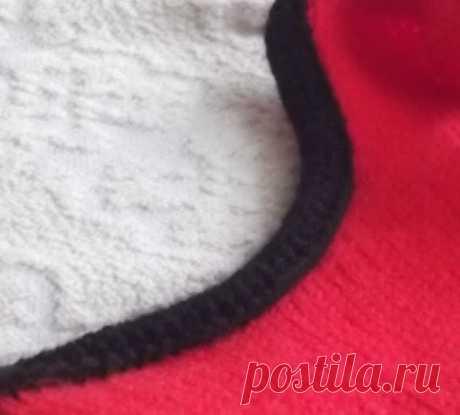 Красивые способы обвязки горловины и проймы спицами - Modnoe Vyazanie ru.com