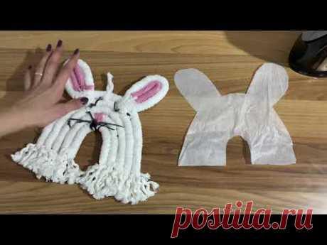 Кролик Детская Комната Декор Стены Макраме