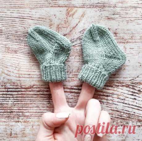 Носочки для торопыжек с классической пяткой и пяткой бумеранг от nilova_knit