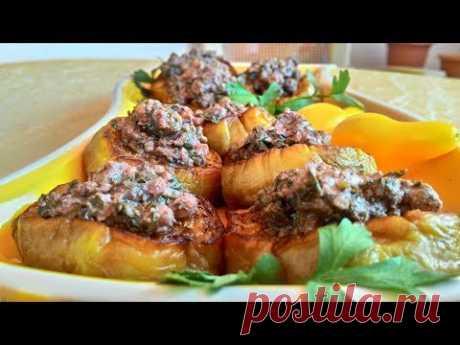 Баклажаны с ореховой подливкой/Eggplant with Nut Gravy