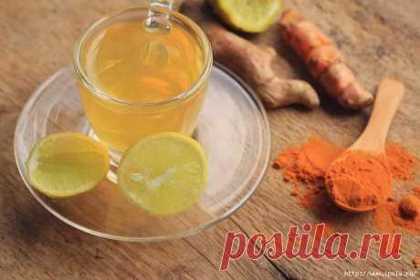 Как приготовить напиток с куркумой для похудения и здоровья мозга и печени?