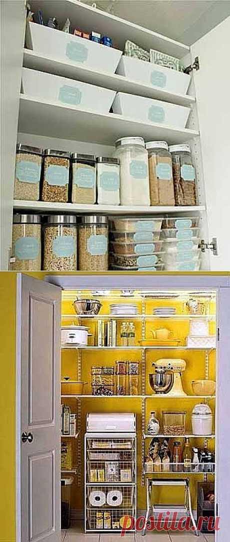 Идеи для хранения продуктов / Я - суперпупер
